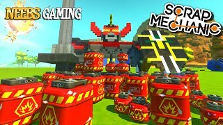 Scrap Mechanic | Blowing Up Our Creations