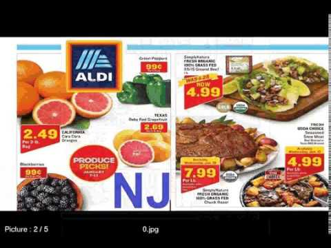 Aldi Weekly Ad New Jersey For This Week 1/9 – 1/13 2018