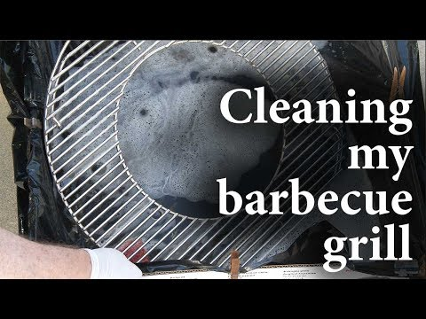 108 - Cleaning a Weber BBQ grill grate