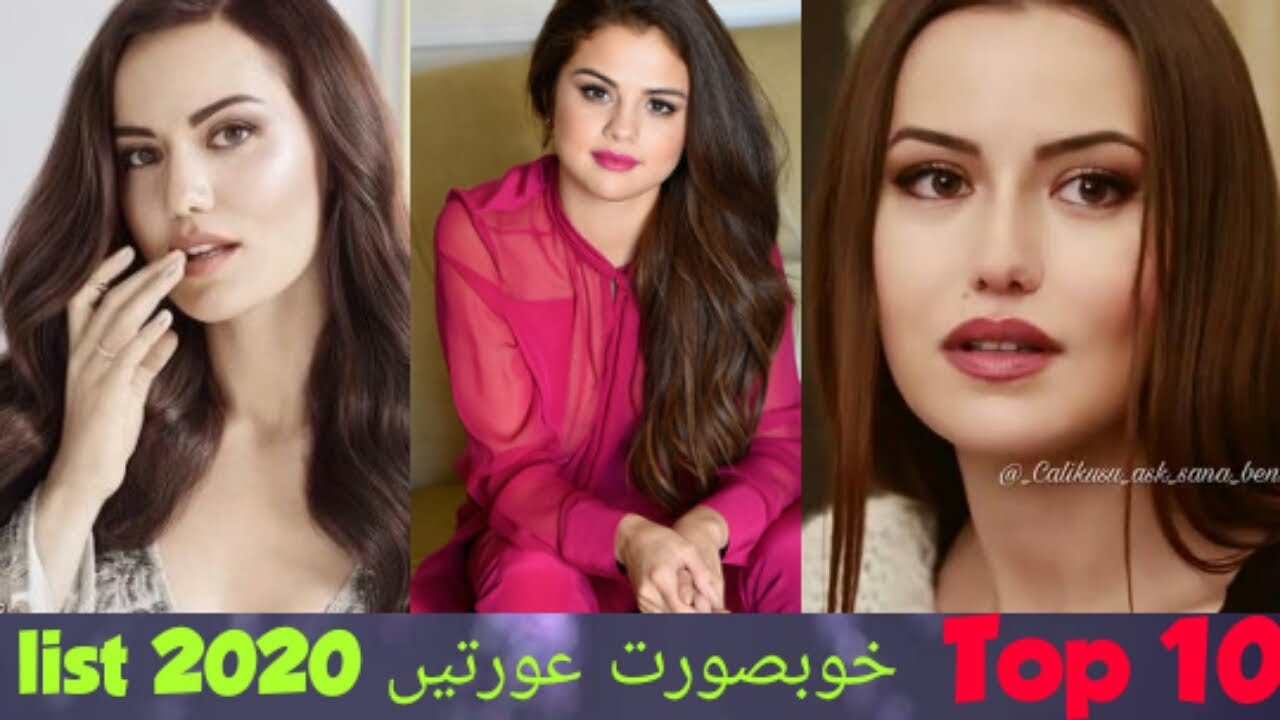 most beautiful women in the world 2020