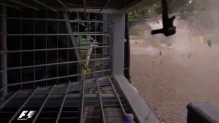 Формула-1: Видео страшной аварии Алонсо на Гран-при Австралии(, 2016-03-20T15:04:04.000Z)