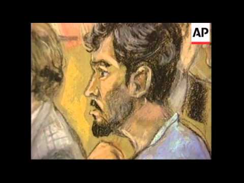 USA: MAN ACCUSED OF CONSPIRING WITH BIN LADEN CHARGED