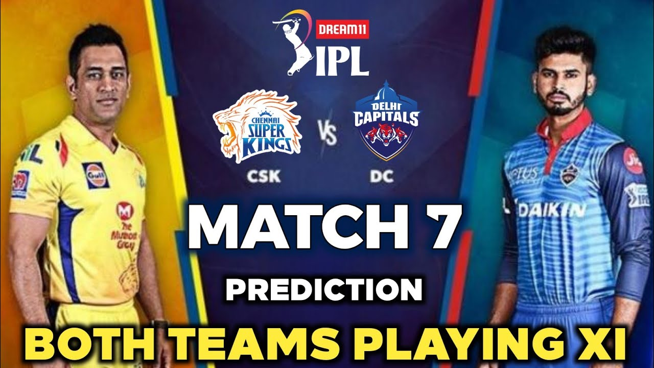 IPL 2020 Match 7 Preview - CSK vs DC playing 11 prediction || Chennai vs Delhi