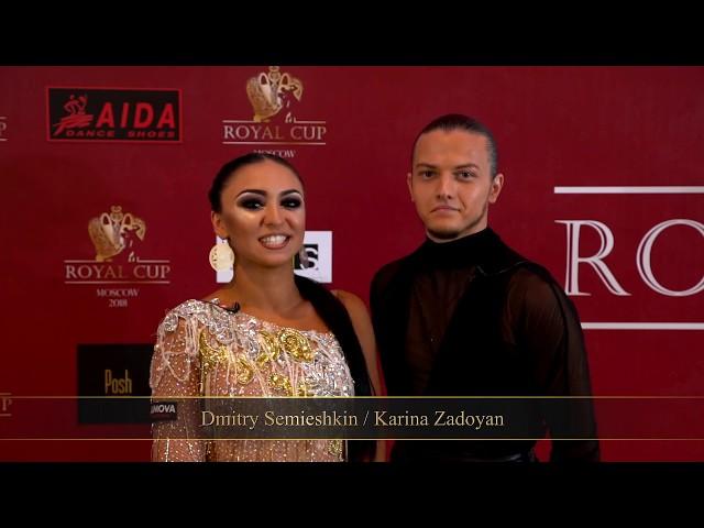 Интервью пары Дмитрий Семьешкин - Карина Задоян/Interview with Dmitry Semieshkin - Karina Zadoyan