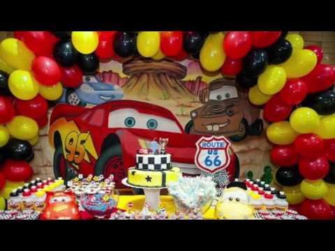 Decoração Festa Infantil - Carros Disney - 3 anos do Pedro Fillipe
