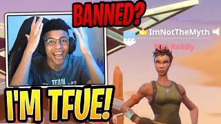 Myth Explains COPYING Tfue with New Account! - Fortnite Best and Funny Moments