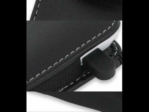 PDair Leather Case for Acer beTouch E100/E101 - Vertical Pouch Type Belt clip inluded (Black)