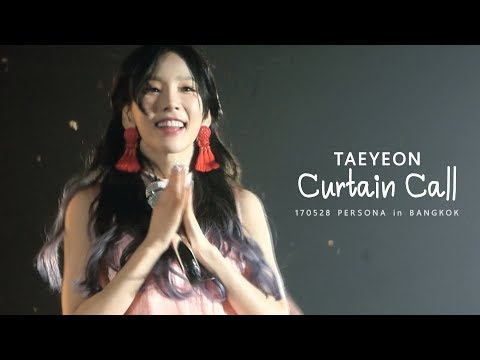 170528 Taeyeon - Curtain Call_PERSONA in BANGKOK