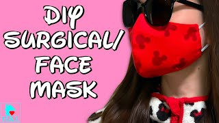 DIY Surgical/Face Mask with Filter & Flexible Nose (#2) (washable) |