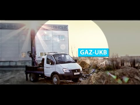"""GAZ-UKB во всей красе. Буровая установка на базе """"Газели"""""""