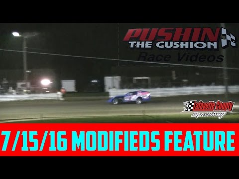 Lafayette County Speedway 7/15/16 Modifieds Feature