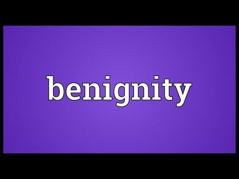Header of benignity