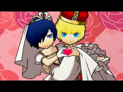 [3DS] Persona Q: Shadow of the Labyrinth [Persona 3] - Wedding: Aigis