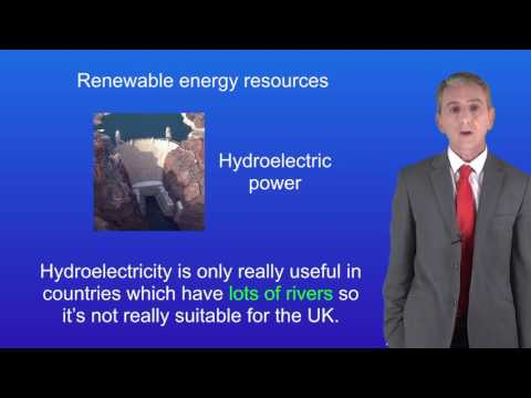 GCSE Science Physics (9-1) Renewable sources of energy