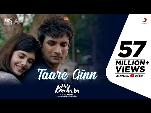 Taare Ginn Video Song - Dil Bechara