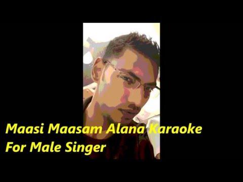 Maasi Maasam Alana Ponnu Karaoke For Male
