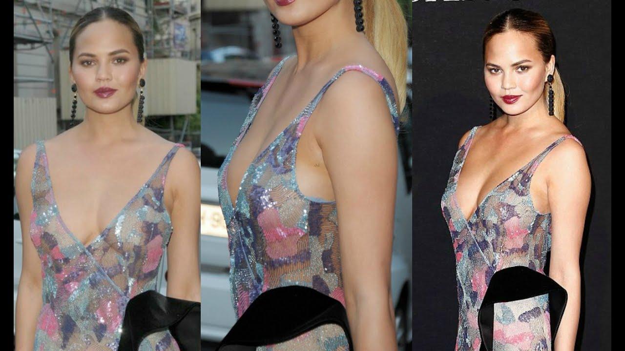 Chrissy teigen deep cleavage naked (76 photos), Bikini Celebrites image