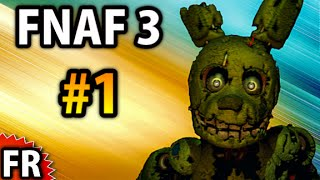 Five Nights at Freddy's 3 - Gameplay Walkthrough FR - Nuit 1