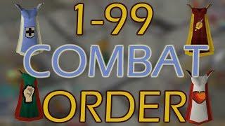 [OSRS] ULTIMATE 1-99 Combat MAXING ORDER Guide (Short Version)