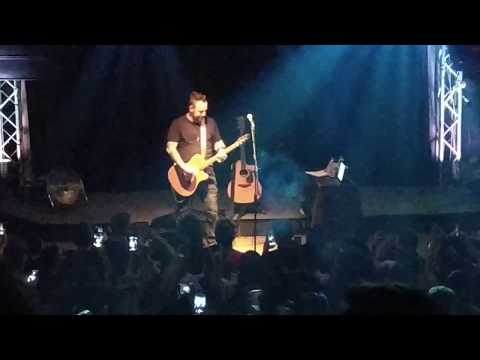 Gone Forever/Breaking the Habit - Adam Gontier live in Athens Greece 15/9/2018