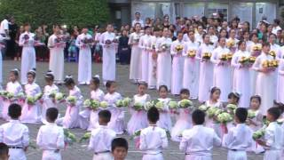 Dâng Hoa 2017. Bài hát: Dâng Gia Đình Cho Đức Mẹ. Tg: PM. Cao Huy Hoàng   2017-05-17