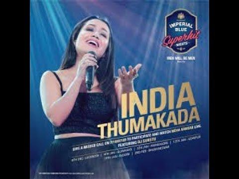 Neha Kakkar In Lucknow | Live Show | Imperial Blue