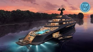 World's Top 10 Most Expensive Luxury Yachts 2016
