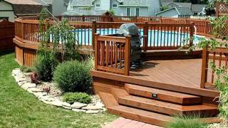 Pool Fence Ideas For Above Ground | Fences Ideas For Swimpool