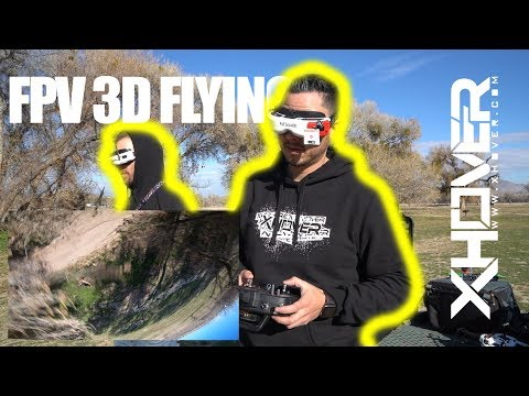 Trying To Fly FPV 3D Mode!