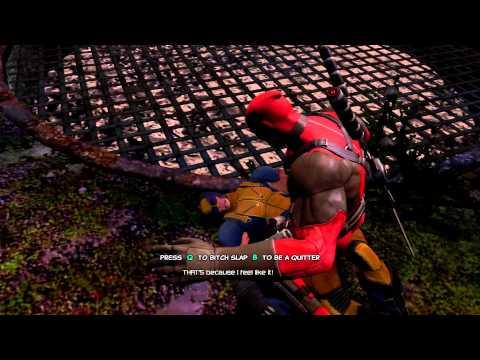 Deadpool   Waking up Wolverine