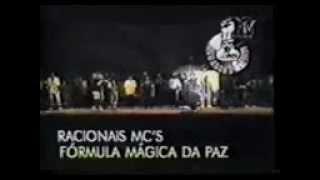 Racionais mc's - Formula Magica da Paz (ao vivo)