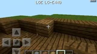Видео урок как построить корабль в Minecraft PE