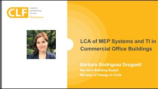 LCA of MEP Systems and TI in Commercial Office Buildings | Barbara Rodriquez Droguett