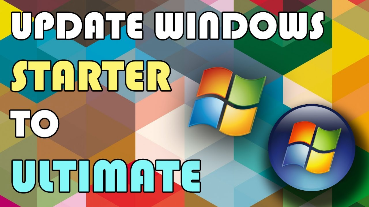 How To Update Windows 7 Starter To Ultimate In 1 Minute