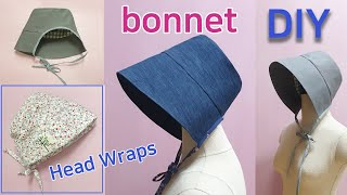DIY Bonnet & Head Wraps/Ma…
