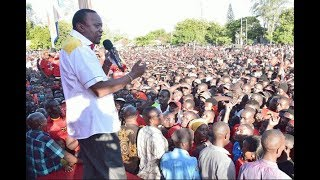 President Kenyatta accuses Raila Odinga of playing divisive politics