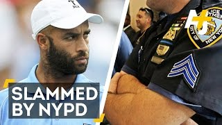 NYPD Slams Tennis Star James Blake On The Ground Before U.S. Open Appearance