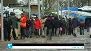 فرنسا: مهاجرون يبحثون عن مأوى بعد قرار إخلاء القسم الجنوبي من مخيم كاليه