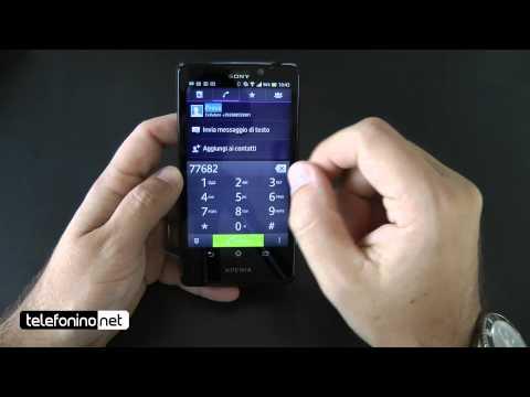Sony Xperia T videoreview da Telefonino.net