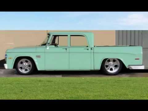Dodge D200 Crew Cab >> 1970 Dodge Sweptside Crew Cab - YouTube