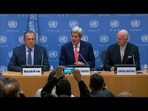 Press Conference Following UN Security Council on Syria