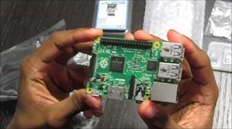 Raspberry Pi 2 Model B (1GB) Complete Starter Kit Unboxing