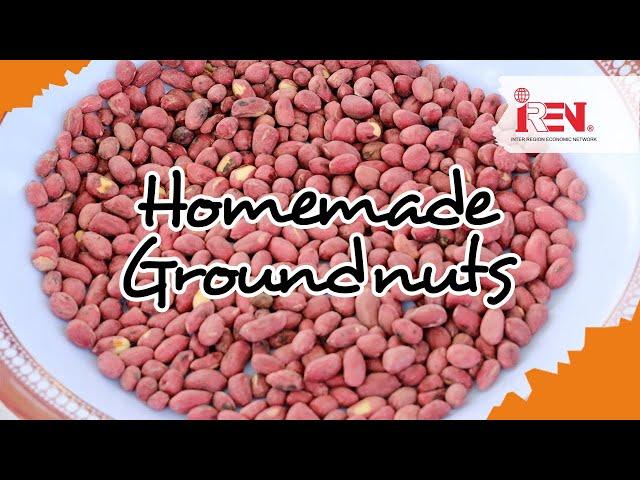 Fried Groundnut Recipe | Tsinjuku | Luhya Favourite Snack