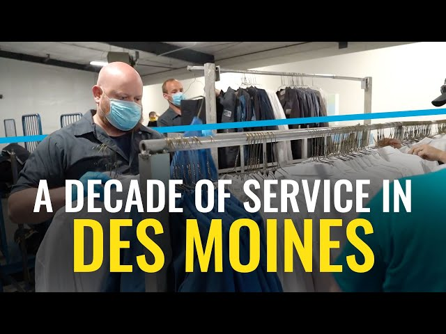 A Decade of Service in Des Moines