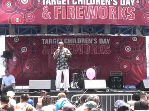 Roscoe Orman at Target Children's Day