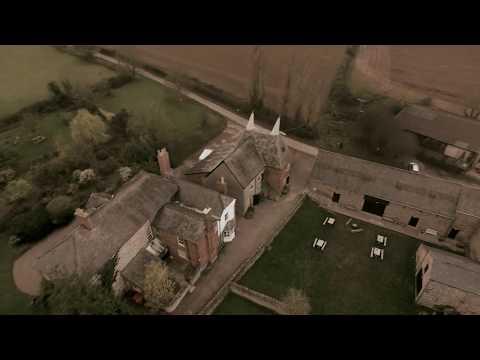 Lyde Court, Hereford   DJI Phantom 3 Professional drone flight