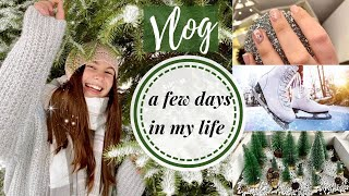 Няколко дни от седмицата ми/Влог/Ерика Думбова/Xmas Vlog/Erika Doumbova