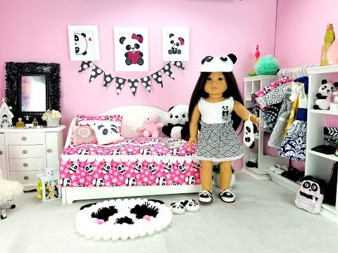AMERICAN GIRL DOLL PANDA BEDROOM