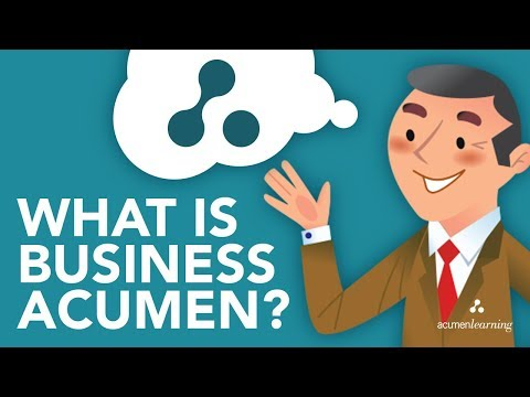What is Business Acumen?