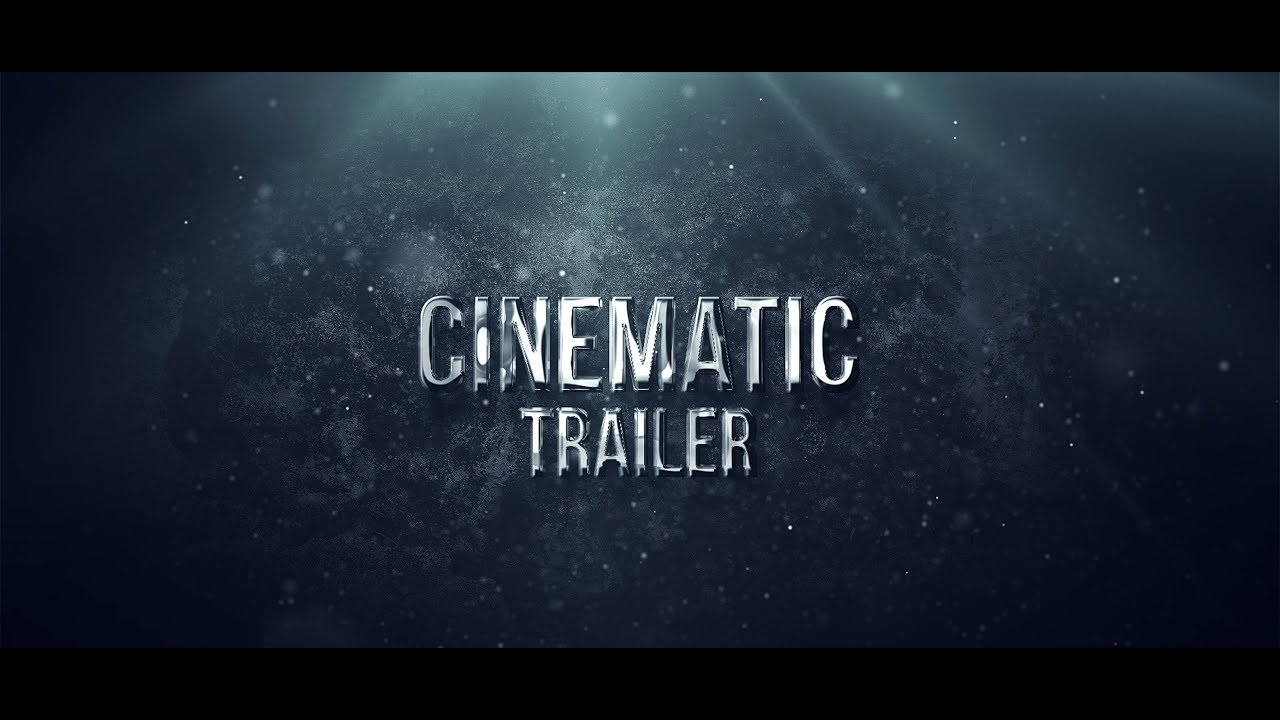 cinematic trailer title animation in after effects free. Black Bedroom Furniture Sets. Home Design Ideas